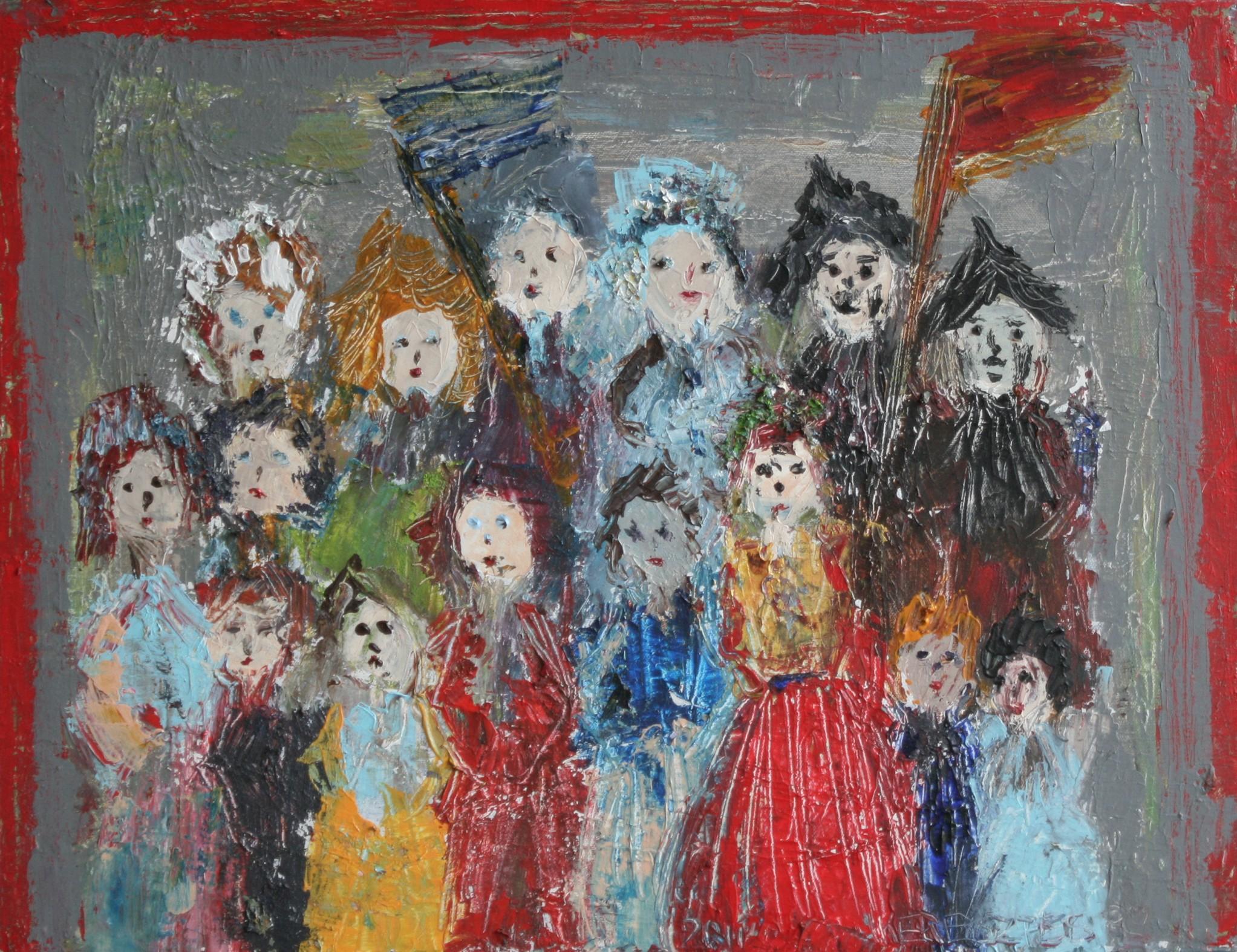 toile 43 - magdalena keresztes, artiste peintre à amiens