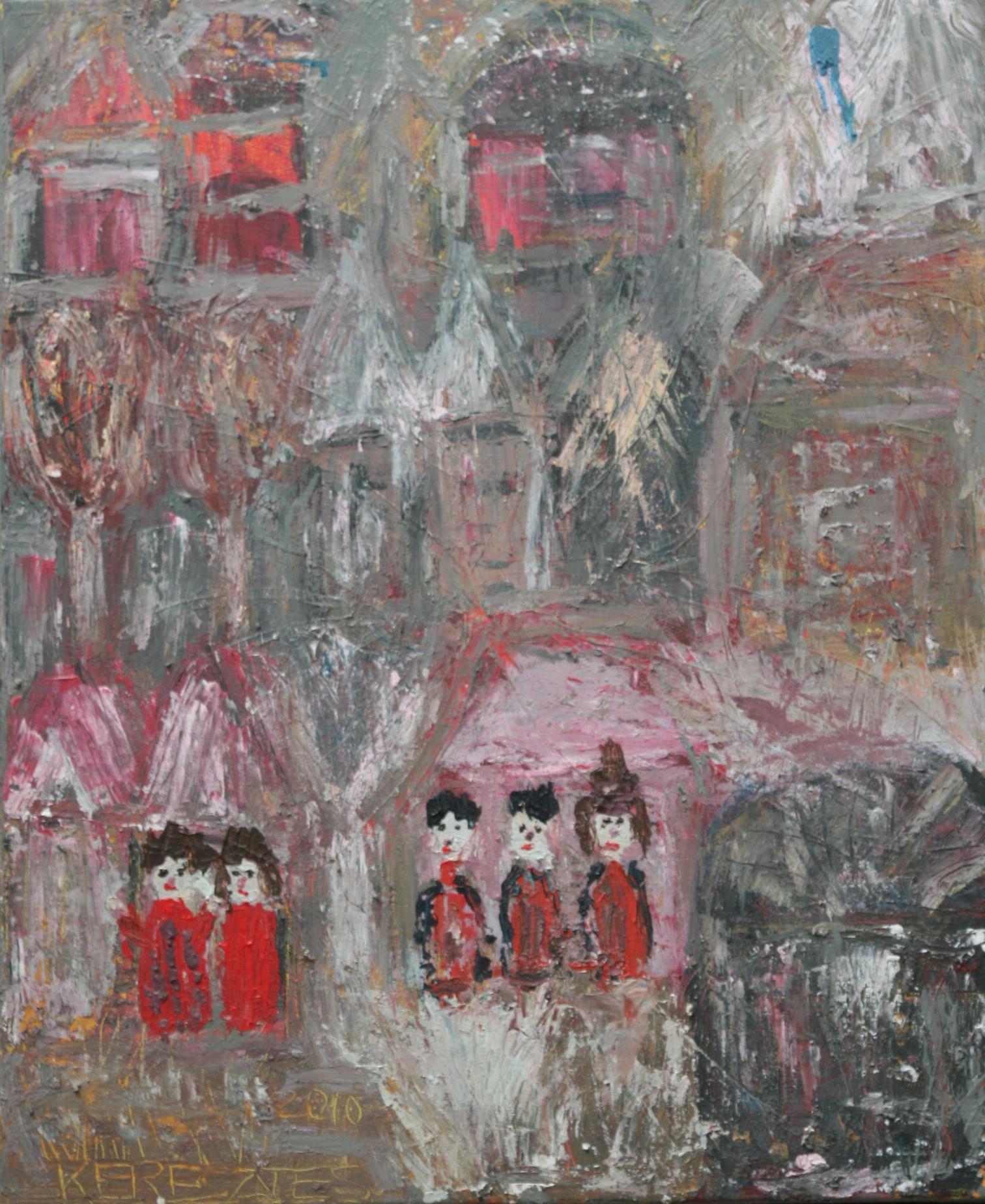toile 45 - magdalena keresztes, artiste peintre à amiens