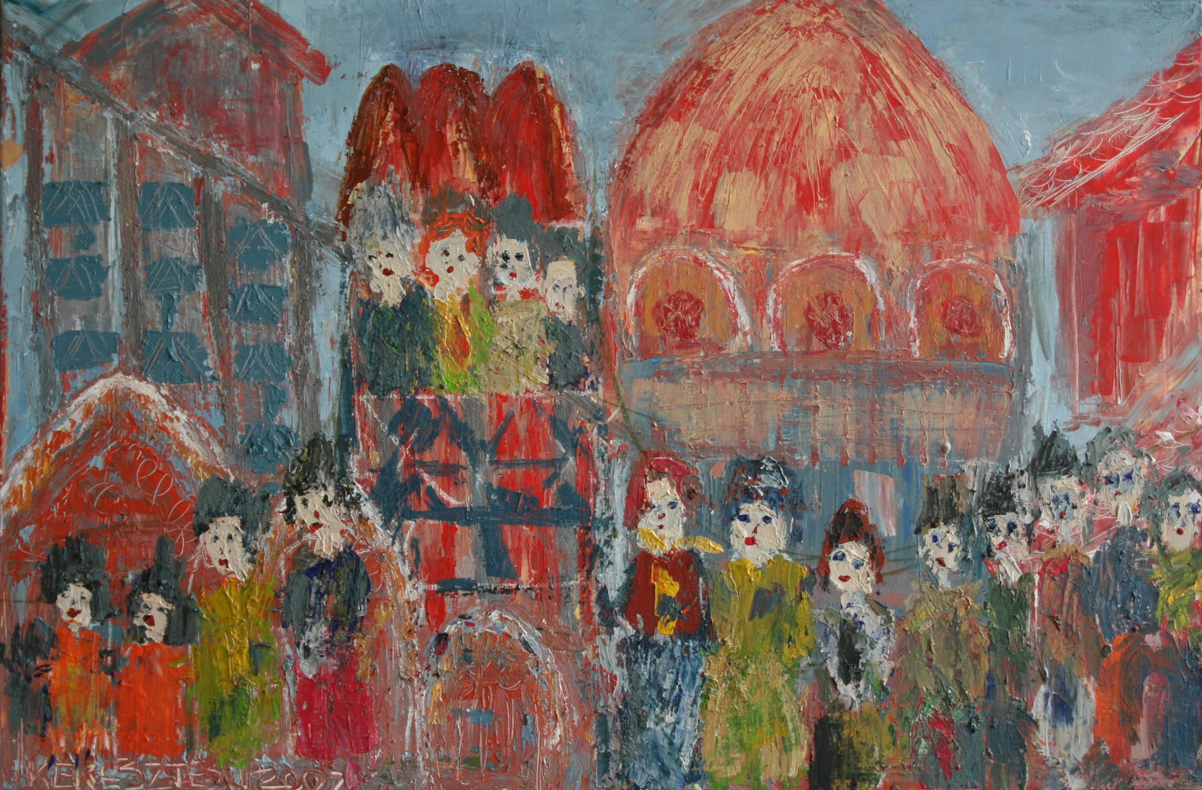 toile 56 - magdalena keresztes, artiste peintre à amiens