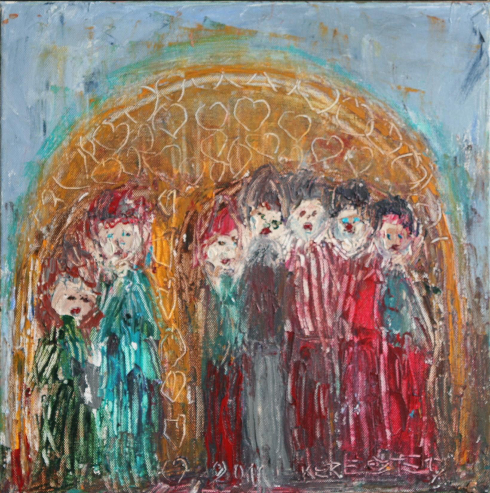 toile 24 - magdalena keresztes, artiste peintre à amiens