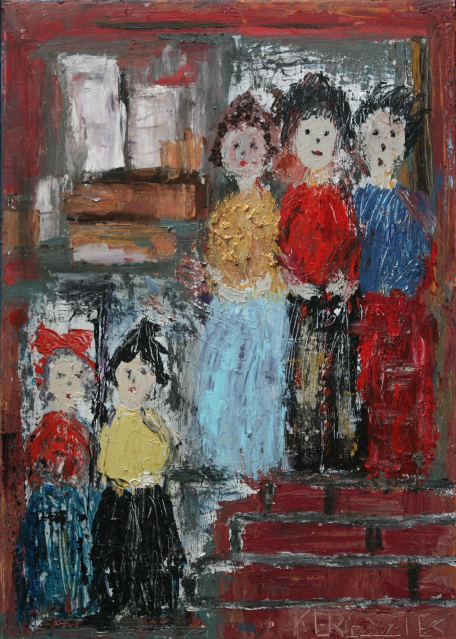 toile 36 - magdalena keresztes, artiste peintre à amiens