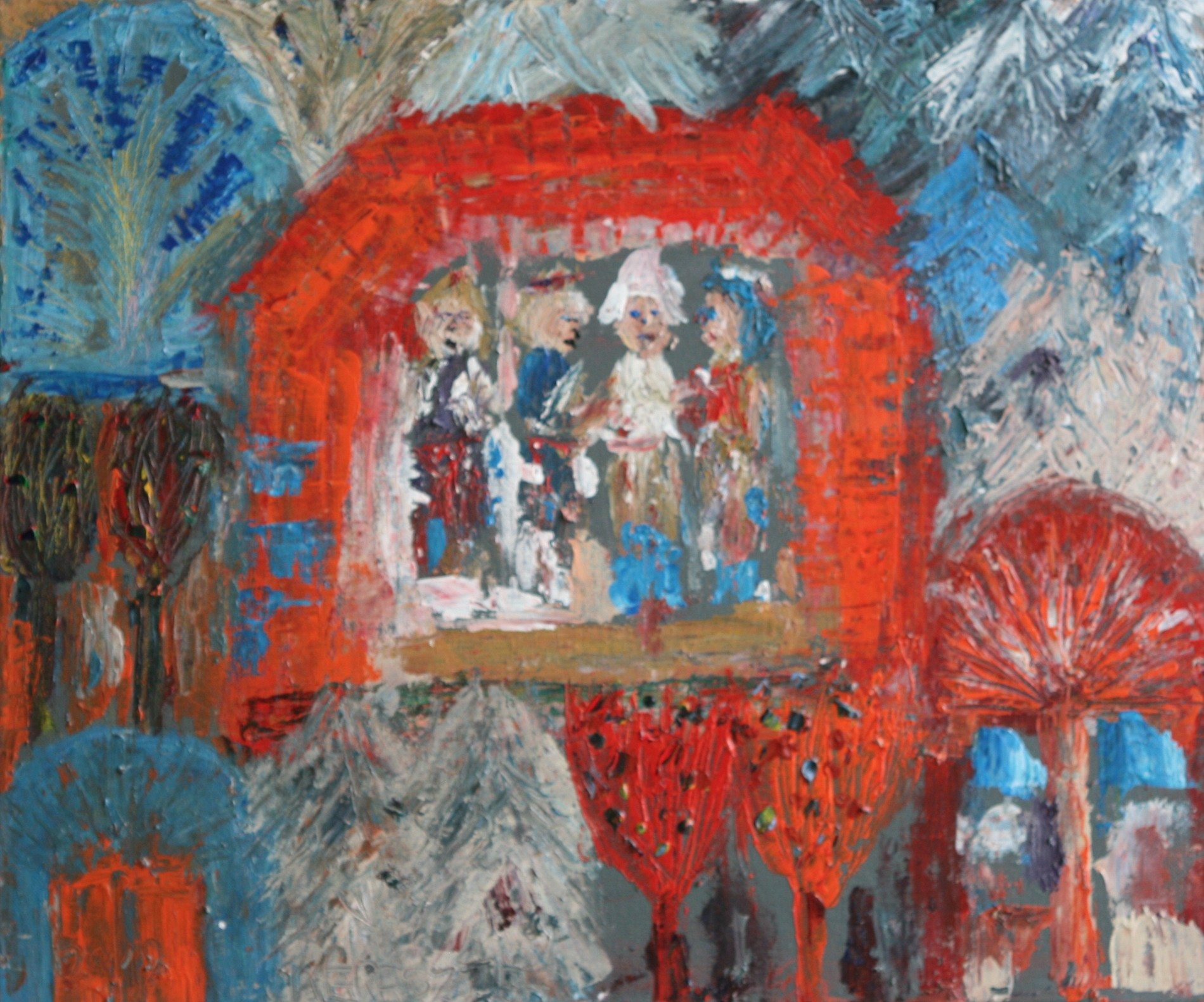 toile 70 - magdalena keresztes, artiste peintre à amiens