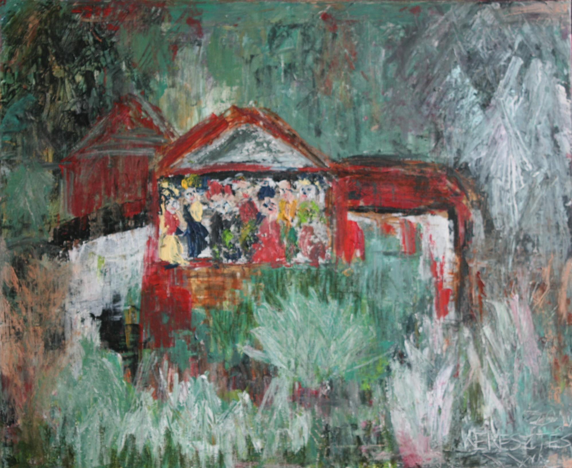 toile 74 - magdalena keresztes, artiste peintre à amiens