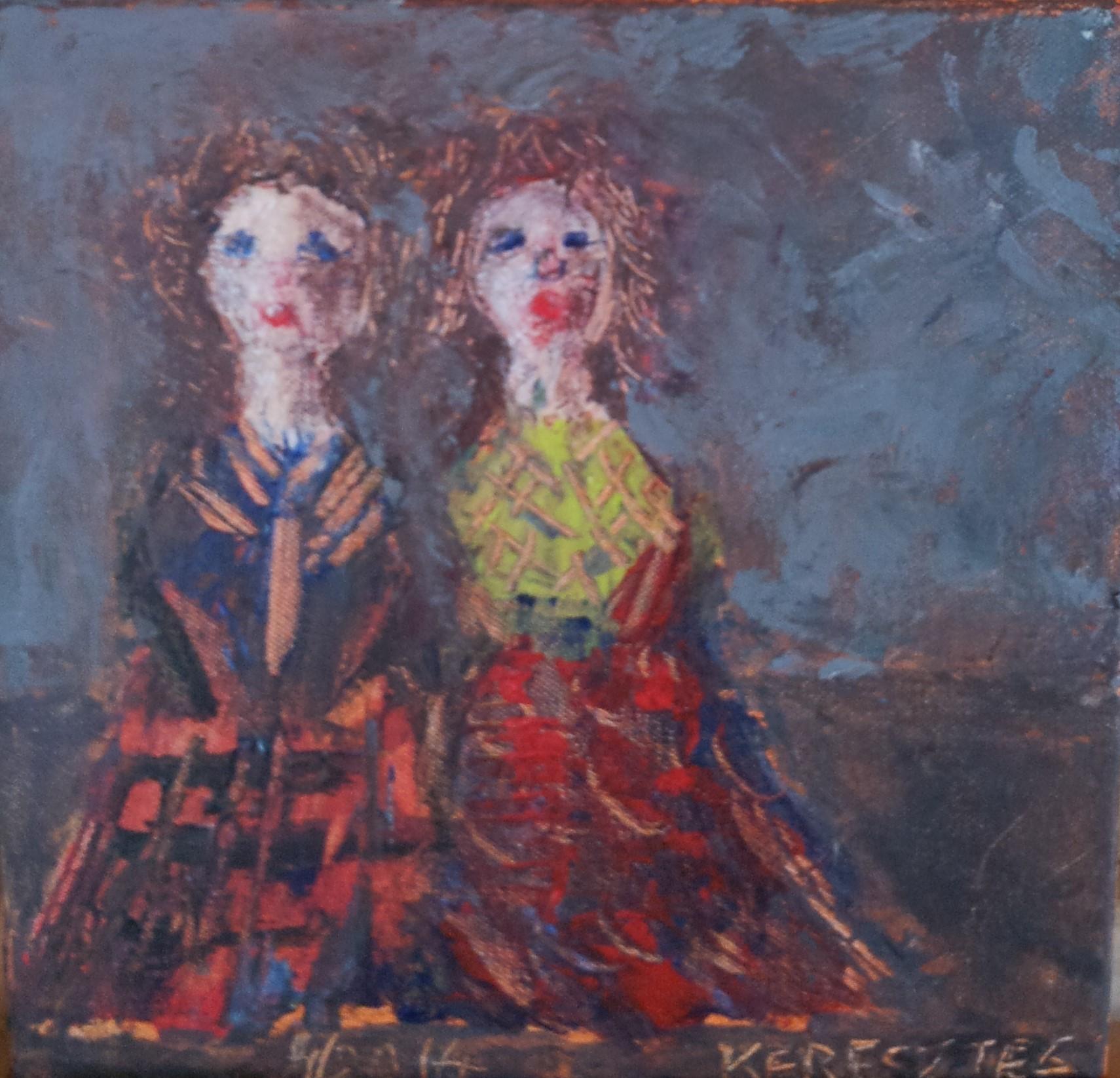 toile 91 - magdalena keresztes, artiste peintre à amiens