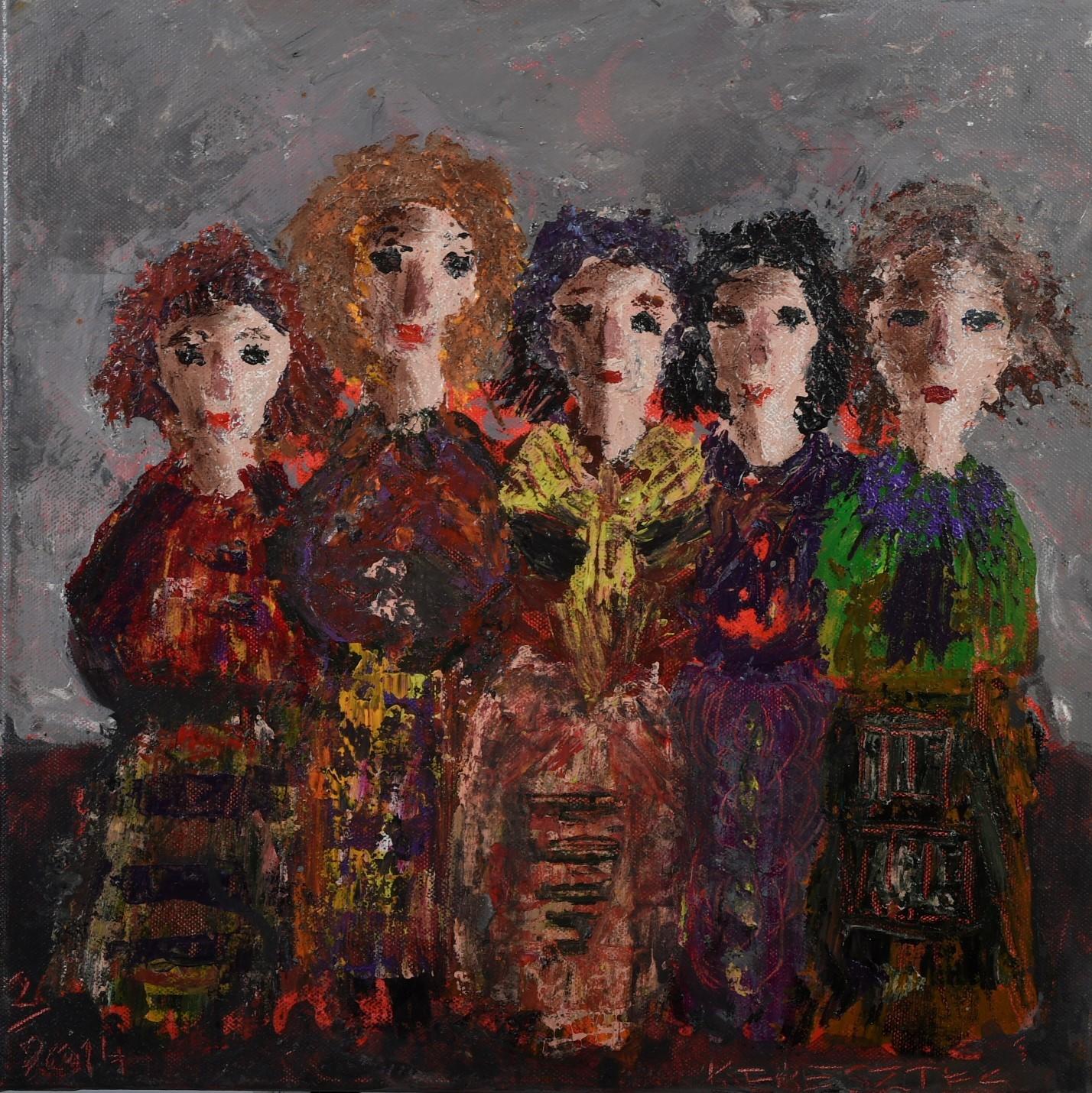 toile sur scene n° 1 - magdalena keresztes, artiste peintre à amiens