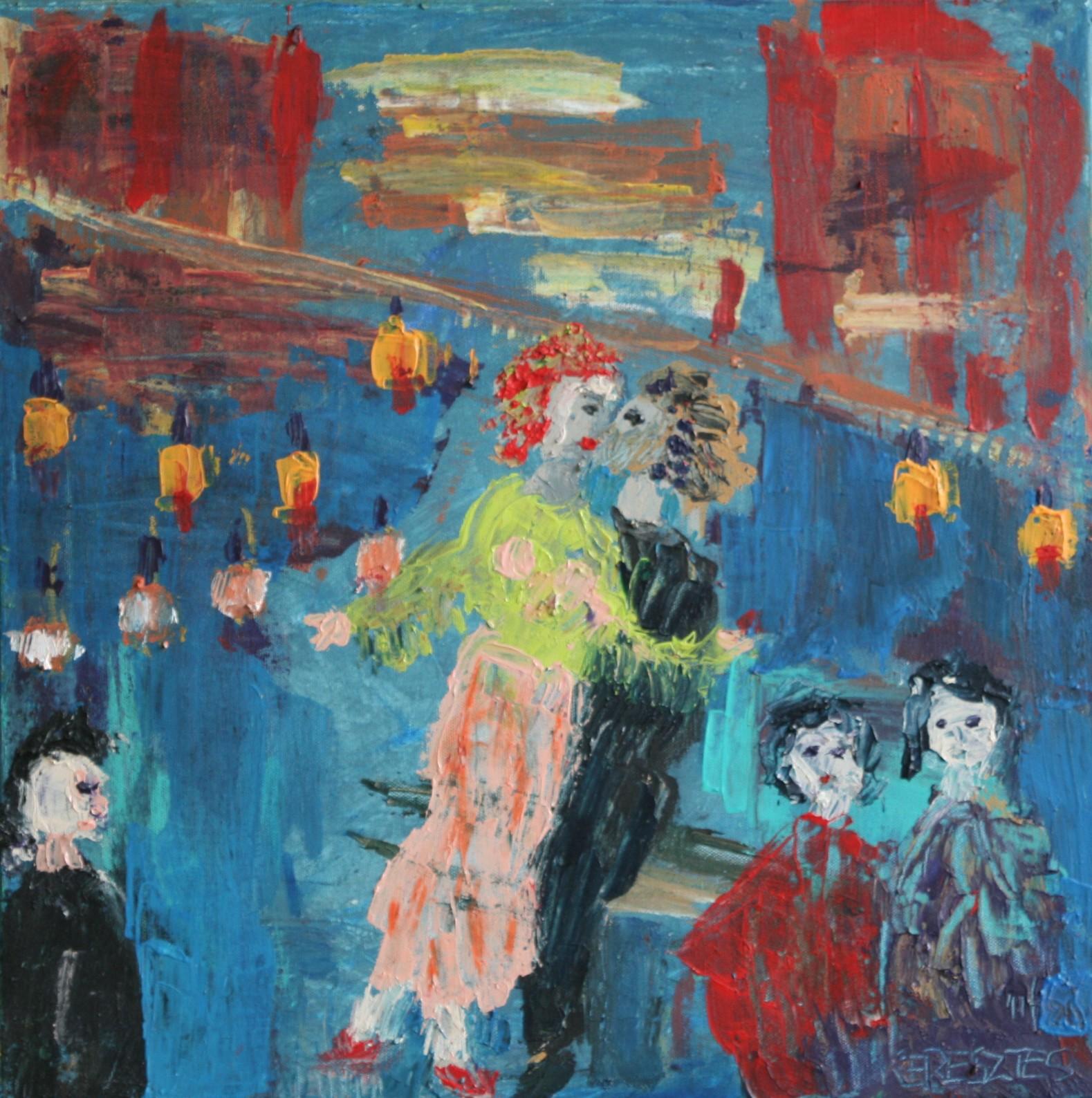 toile 27 - magdalena keresztes, artiste peintre à amiens