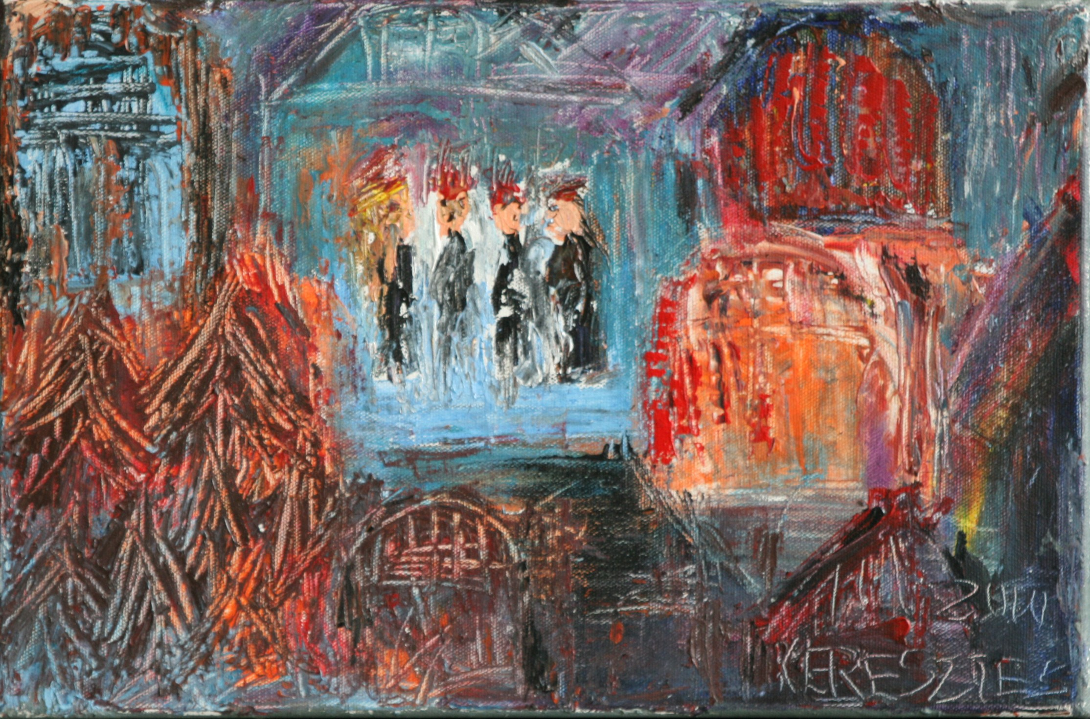 toile 10 - magdalena keresztes, artiste peintre à amiens