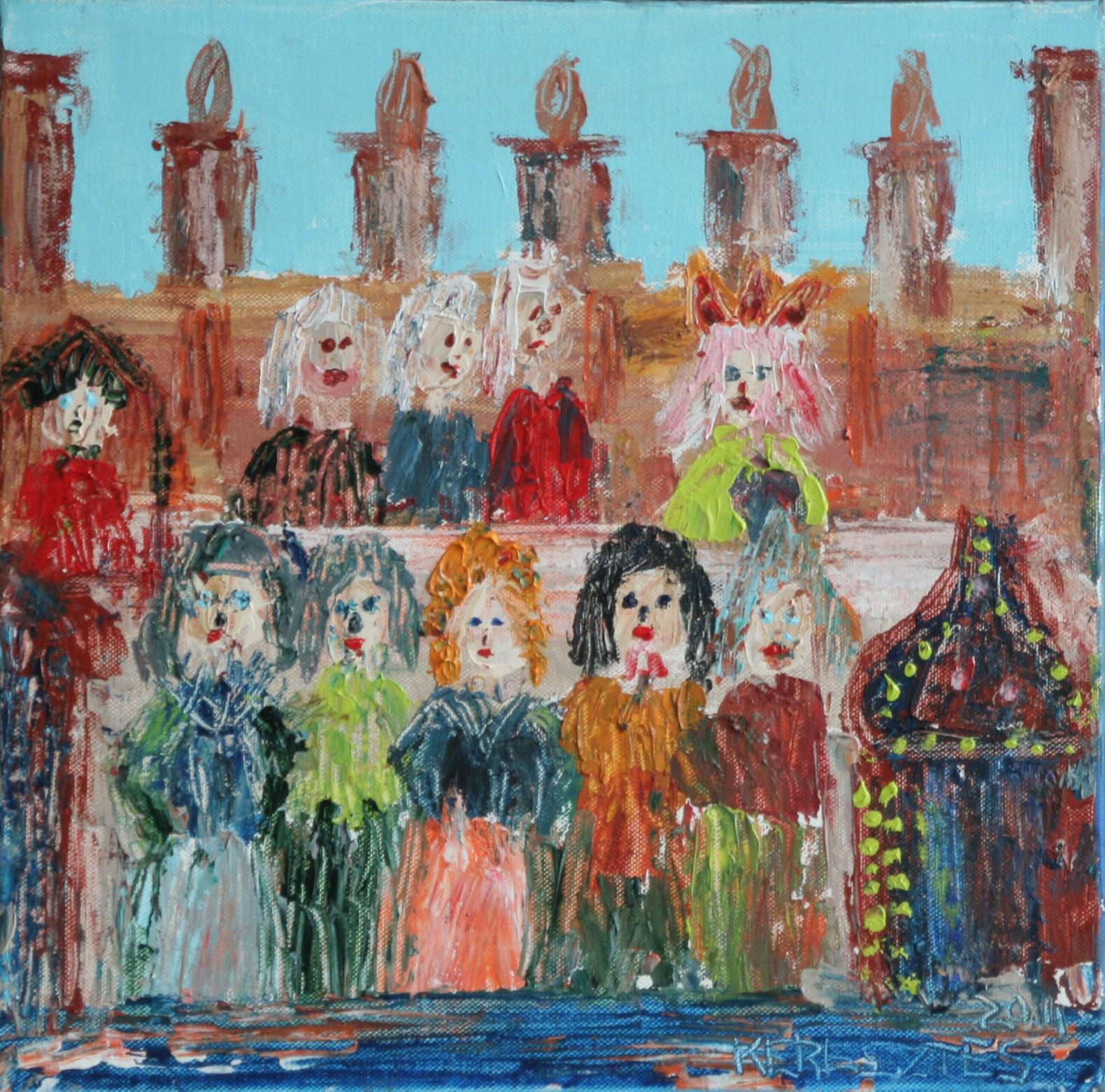 toile 1 - magdalena keresztes, artiste peintre à amiens