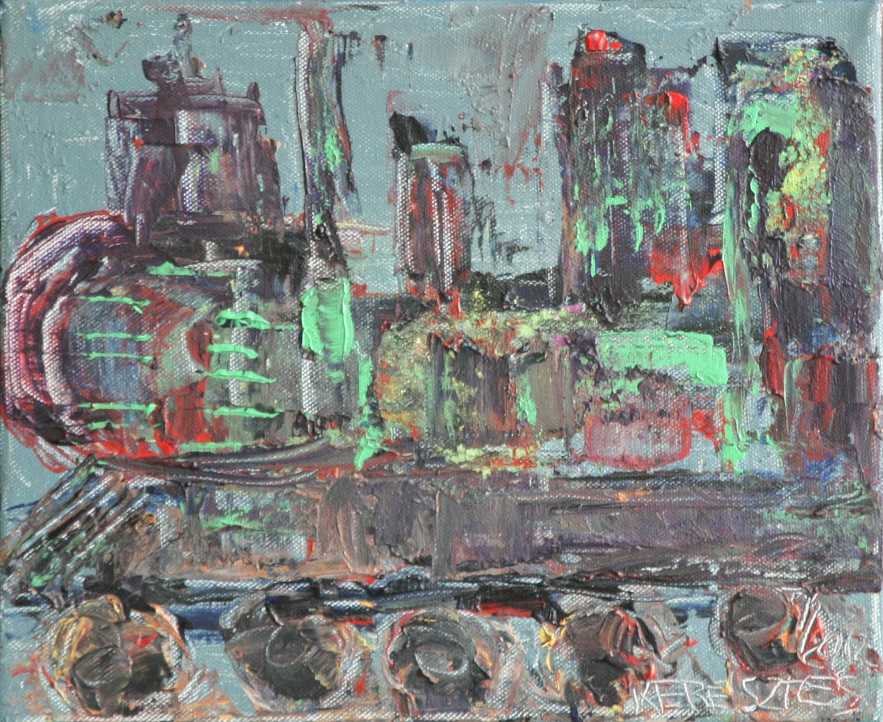toile 2 - magdalena keresztes, artiste peintre à amiens